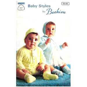 Patons 117 Baby Styles pattern book