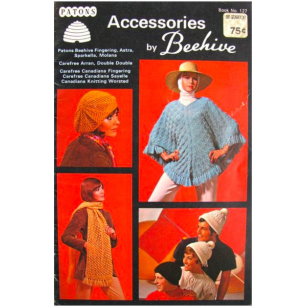 Patons 127 Accessories pattern book