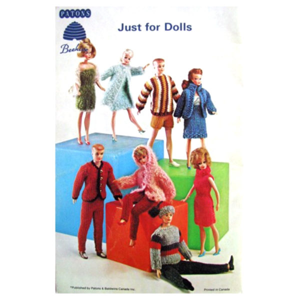 Patons 139 Just for Dolls back cover