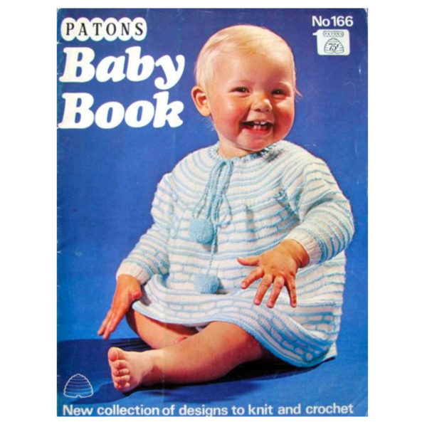 Patons 166 Baby Book patterns