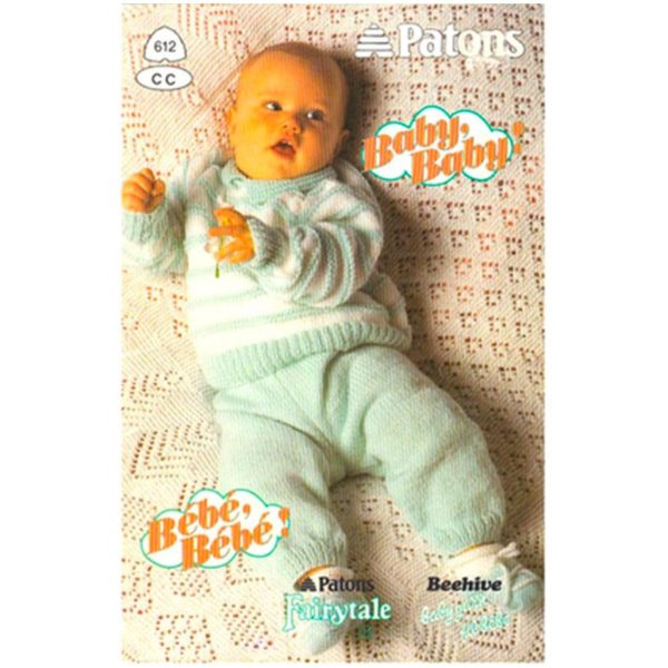 Patons 612 Baby Baby pattern book