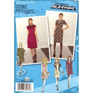 Simplicity 2282 dress sewing pattern
