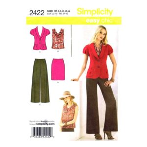 Simplicity 2422 womens pattern