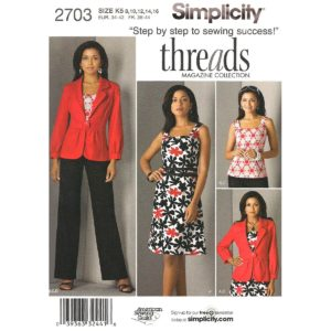 Simplicity 2703 womens sewing pattern