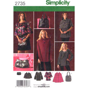 Simplicity 2735 womens sewing pattern