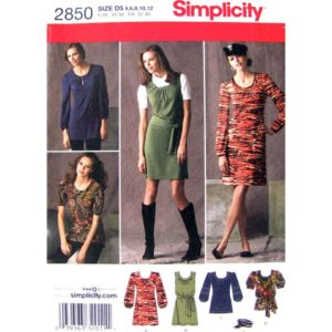 Simplicity 2850 womens sewing pattern