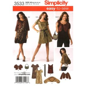 Simplicity 3533 womens sewing pattern