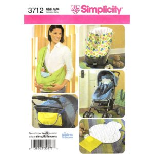 Simplicity 3712 baby sewing pattern