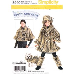 Simplicity 3940 mommy and me pattern