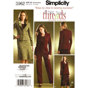 Simplicity 3962 womens suit pattern