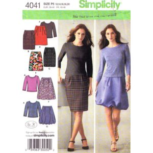 Simplicity 4041 womens sewing pattern