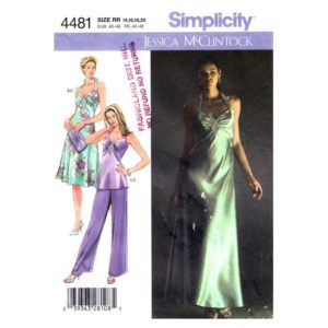 Simplicity 4481 womens sewing pattern