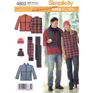 Simplicity 4803 jacket sewing pattern