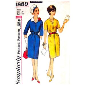 Simplicity 4889 dress sewing pattern
