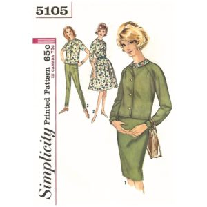 Simplicity 5105 womens sewing pattern