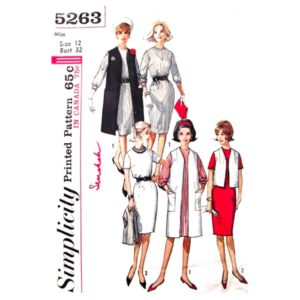 Simplicity 5263 womens sewing pattern