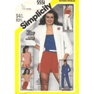 Simplicity 5551 womens sewing pattern