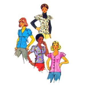 Simplicity 5803 blousesewing pattern