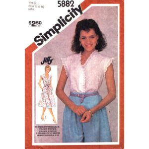 Simplicity 5882 top or dress pattern