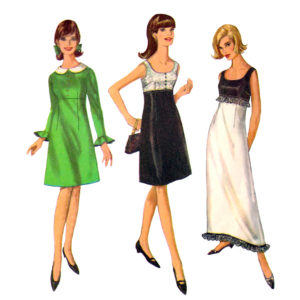 Simplicity 6216 dress sewing pattern