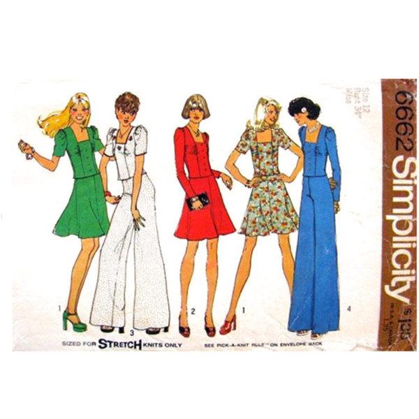 Simplicity 6662 sewing pattern