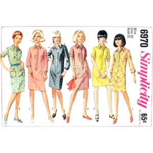 Simplicity 6970 shirt dress pattern