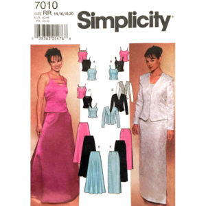 Simplicity 7010 womens sewing pattern