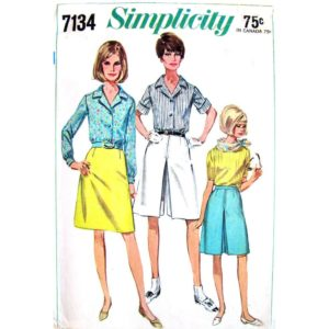 Simplicity 7134 womens pattern