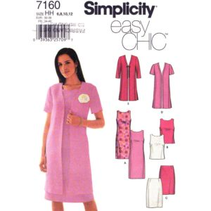 Simplicity 7160 womens pattern
