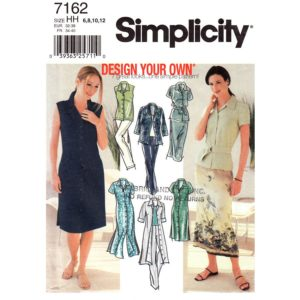 Simplicity 7162 womens sewing pattern
