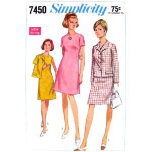 Simplicity 7450 jacket and dress pattern