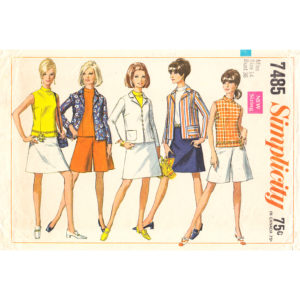 Simplicity 7485 womens vintage pattern