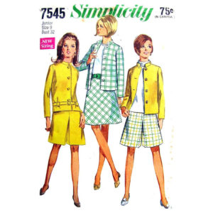 Simplicity 7545 womens sewing pattern