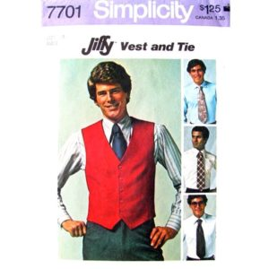 Simplicity 7701 mens sewing pattern