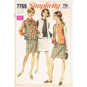 Simplicity 7769 womens sewing pattern