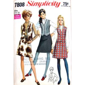 Simplicity 7808 womens sewing pattern