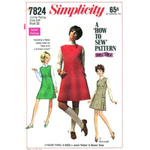 Simplicity 7824 jumper sewing pattern