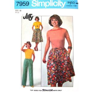 Simplicity 7959 womens sewing pattern