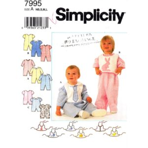 Simplicity 7995 baby pattern