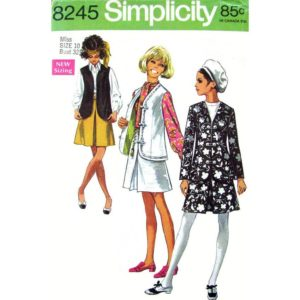 Simplicity 8245 womens sewing pattern