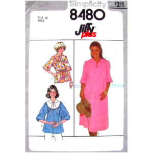 Simplicity 8480 dress or top sewing pattern