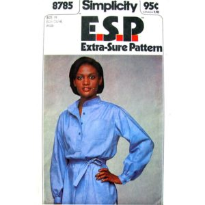 Simplicity 8785 pullover top pattern