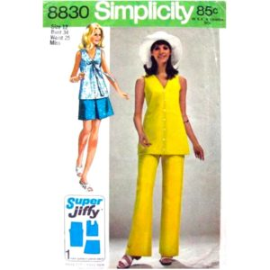 Simplicity 8830 womens sewing pattern