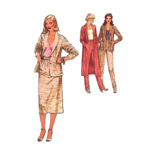 Simplicity 8855 womens sewing pattern