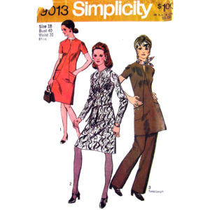 Simplicity 9013 womens sewing pattern