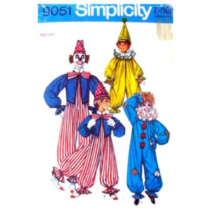 Simplicity 9051 adult clown pattern
