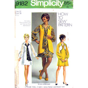 Simplicity 9182 womens sewing pattern