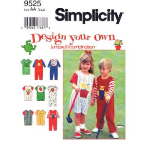 Simplicity 9525 toddler pattern