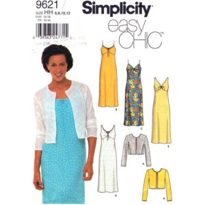 Simplicity 9621 dress and jacket pattern