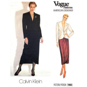Vogue 1062 jacket and skirt pattern